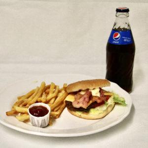 Syökerin Burger ateria